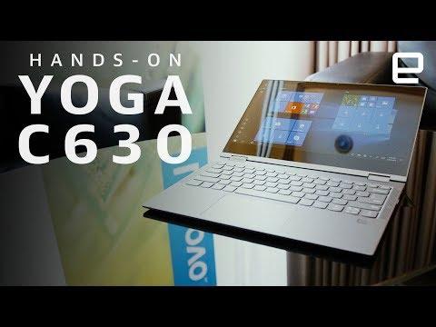 Lenovo Yoga C630 WOS Hands-On at IFA 2018 - UC-6OW5aJYBFM33zXQlBKPNA