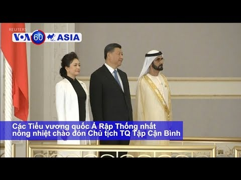 Ông Tập được chào đón nồng nhiệt ở Abu Dhabi (VOA)