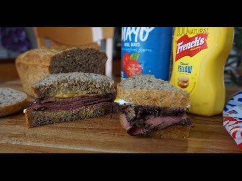 "World's Easiest No-Knead Deli Rye Bread (no mixer… ""hands-free"" technique)"