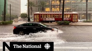 Tropical storm Barry threatens Louisiana