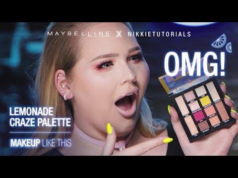 Lemonade Craze Eyeshadow Makeup Tutorial ft. NikkieTutorials - UCq7EY7H2XF6TV7Z5mLv-aNg