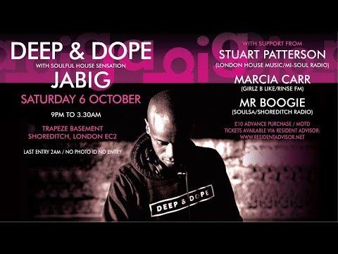 DJ JaBig Live in London, UK on Saturday, October 6th 2018 (Deep Soulful House Music Preview DJ Mix) - UCO2MMz05UXhJm4StoF3pmeA
