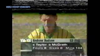 Andrew Hudson 53 vs Australia, 1996