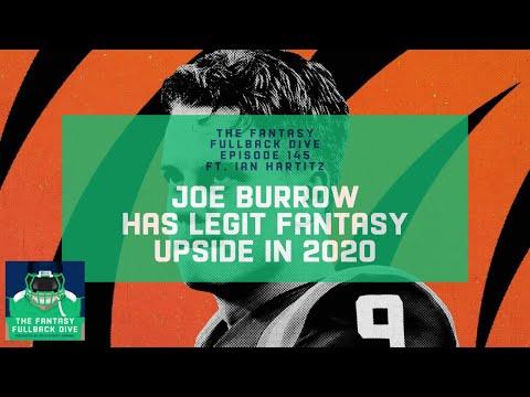 Joe Burrow Has Legit Fantasy Upside in 2020   Fantasy Football Podcast