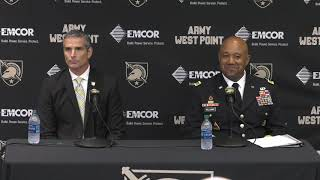 Army Athletics: Mike Buddie Introductory Press Conference