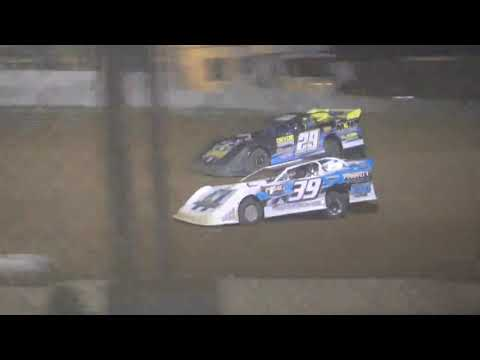 Super Late Model A-Main from Portsmouth Raceway Park, August 7th, 2021. - dirt track racing video image