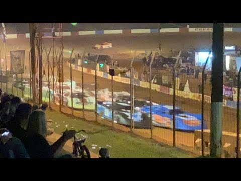 10/2/2021 Main 602 Thunder Series Cherokee Speedway - dirt track racing video image
