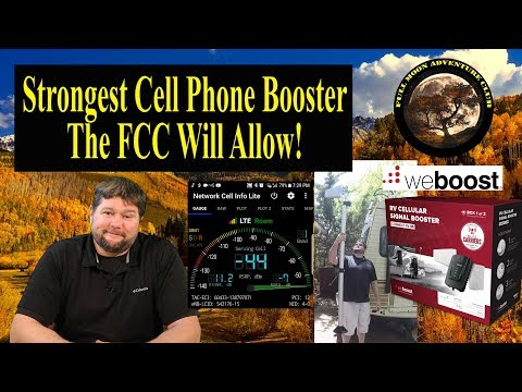 Best Cell Phone Booster 2018 - WeBoost Connect RV 65 Review - UCsEJbOlBiCRCvEPed01AUig