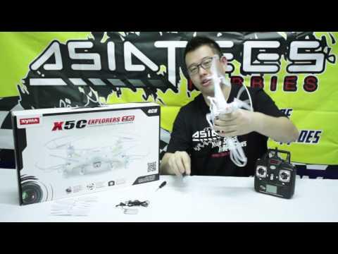 [Quick Review] Syma X5C Explorers Quadcopter 2.4G 4CH Drone - UCflWqtsSSiouOGhUabhKTYA