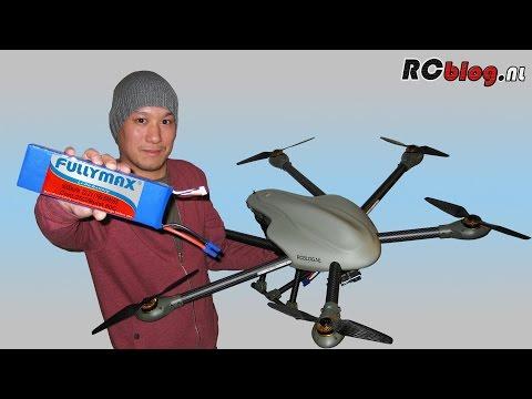 Fullymax 6S 22.2V 9000 mAh 25C LiPo in SKY-HERO Spyder6 hexacopter (NL) - UCXWsfadxZ1qM0HKuPOx1ptg