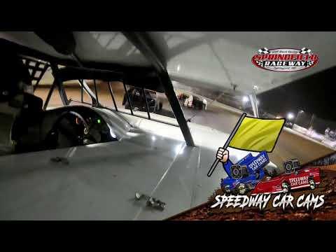 #c35 Casey Wilson - USRA B-Modified - 9-18-2021 Springfield Raceway - In Car Camera - dirt track racing video image