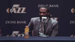 Mike Conley Jr. & Bojan Bogdanovic introductory press conference