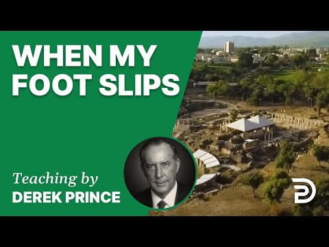 When My Foot Slips 10/5