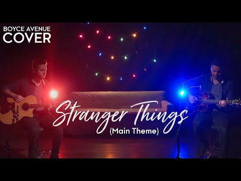 Stranger Things (Main Theme) [Acoustic Cover]