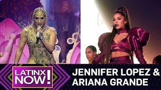 Jennifer Lopez & Ariana Grande Sharing Too Much While on Tour? | Latinx Now! | E! News