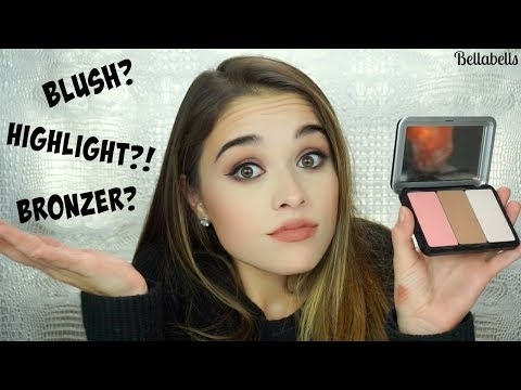 How to Apply Bronzer, Blush, & Highlight | MAKEUP FOR EVER ARTIST FACE COLORS - UCekpbX37JM-bcw_qMc3V6pQ