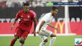 Eden Hazard debuta en derrota del Real Madrid 1-3 ante Bayern Munich en International Champions Cup