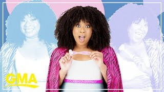 Take it from comedy queen Phoebe Robinson: 'I get my best material in the shower' | GMA