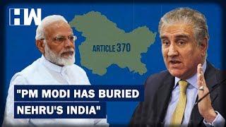 Headlines: PM Modi has buried Nehru's India, says Pak minister Shah Mahmood Qureshi