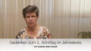 Sonntagsgedanken mit Isabella Eder-Zandt