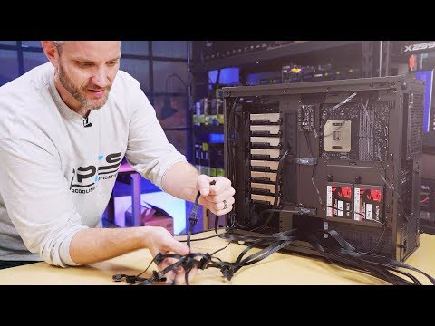 How to cable manage a computer - UCvrwZrKFfn3fxbkpiSIW4UQ