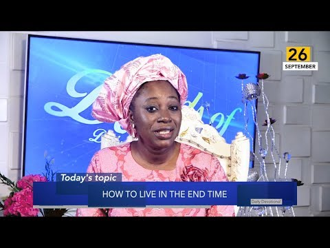 Dr Becky Paul-Enenche - SEEDS OF DESTINY  THURSDAY 26TH SEPTEMBER, 2019