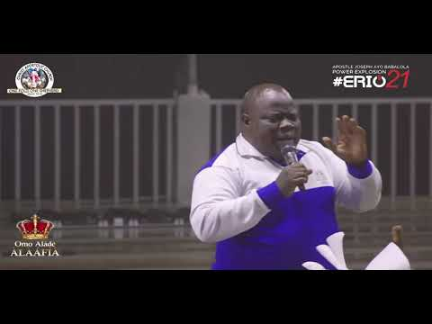 DELIVERANCE PRAYER BY PASTOR KEHINDE AYO-OLA DURING ERIO2021
