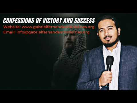 POWERFUL CONFESSIONS FOR VICTORY & SUCCESS WITH EV  GABRIEL FERNANDES