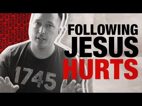 FOLLOWING JESUS HURTS  BATTLE READY