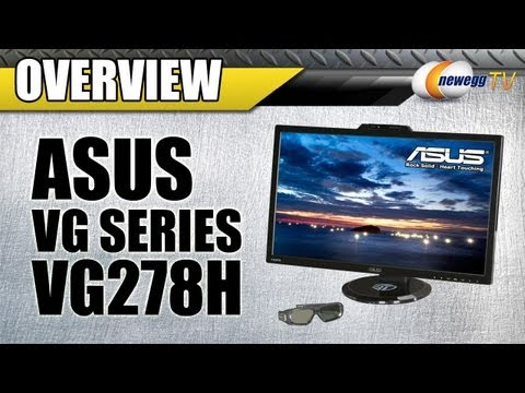 Newegg TV: ASUS VG278H VG Series LED LCD NVIDIA 3D Vision Ready Monitor Overview - UCJ1rSlahM7TYWGxEscL0g7Q