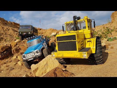 РОССИЙСКИЕ МОНСТРЫ ... КАМАЗ, ЗИЛ, КИРОВЕЦ ... RC scale trucks - UCX2-frpuBe3e99K7lDQxT7Q