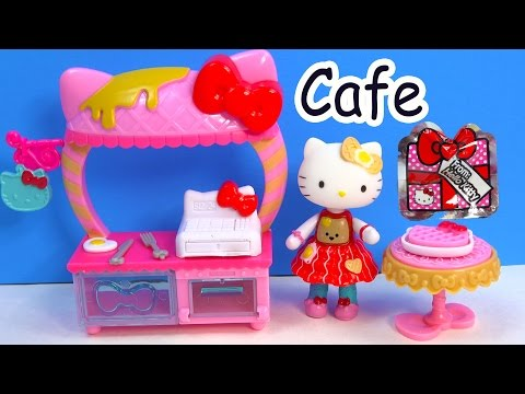 Hello Kitty Breakfast Cafe Playset Mini Doll Play Food Set Surprise Mystery Blind Bag Unboxing Video - UCelMeixAOTs2OQAAi9wU8-g