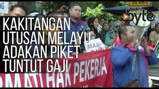 #AWANIByte: Kakitangan Utusan Melayu adakan piket tuntut gaji tertunggak tiga bulan