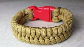 58d8ad2bd2d2 How To Make A Fishtail Paracord Bracelet ...
