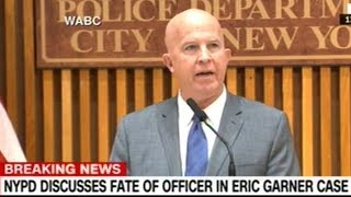 NYC Police Commissioner Press Conference Or The Firing Of Cop That MURDERED Eric Garner