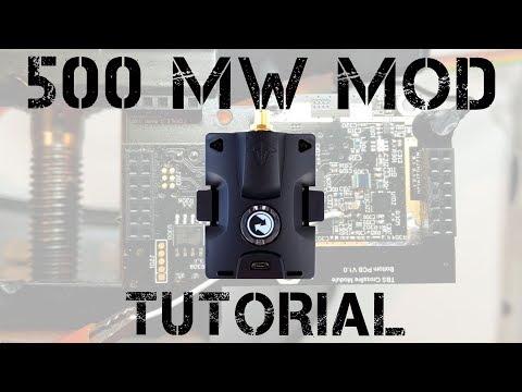 Crossfire MicroTX 500 mW Mod TUTORIAL - UCpTR69y-aY-JL4_FPAAPUlw