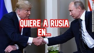 NO CREERÁS LO ÚLTIMO DE DONALD TRUMP Y RUSIA - últimas noticias de donald trump en español