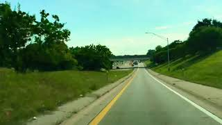 Driving to Roseville, Michigan from Southfield, Michigan