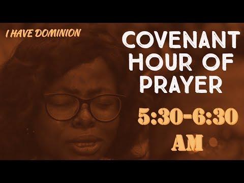 DOMI STREAM:COVENANT HOUR OF PRAYER  SEPTEMBER 6, 2019