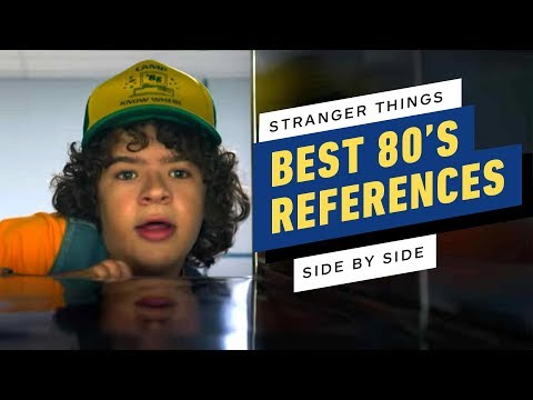 Stranger Things Season 3's '80s References: A Side-by-Side Comparison - UCKy1dAqELo0zrOtPkf0eTMw