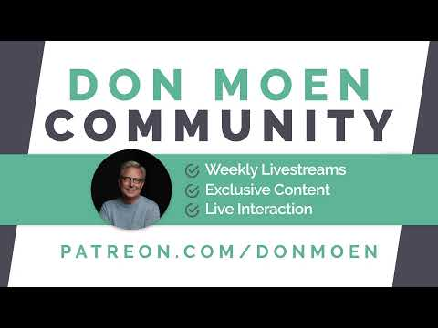 Join me for an update!