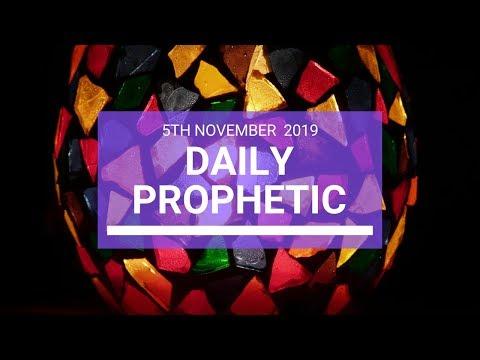 Daily Prophetic 5 November Word 4