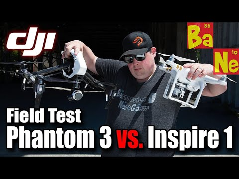 DJI Phantom 3 vs Inspire 1 in Head to Head Review