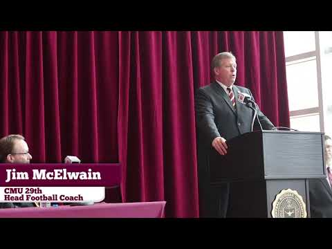 CMU 29th Head Football Coach Opening Press Conference