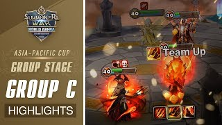 [HIGHLIGHTS] SWC2019 Asia-Pacific GROUP C
