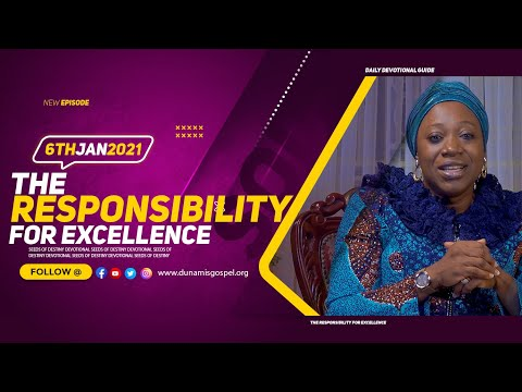 Dr Becky Paul-Enenche - SEEDS OF DESTINY  WEDNESDAY JANUARY 6, 2021