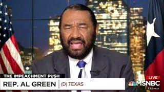 Congressman Al Green Explains How Racism IS Grounds For Impeachment!
