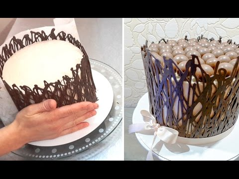 Chocolate Cage How To Make Chocolate Cake Wrap By
