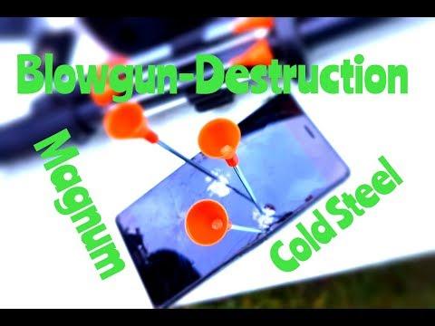 Cold Steel Pro Blowgun Magnum .625 // Impact Test - UCskYwx-1-Tl5vQEZ0cVaeyQ