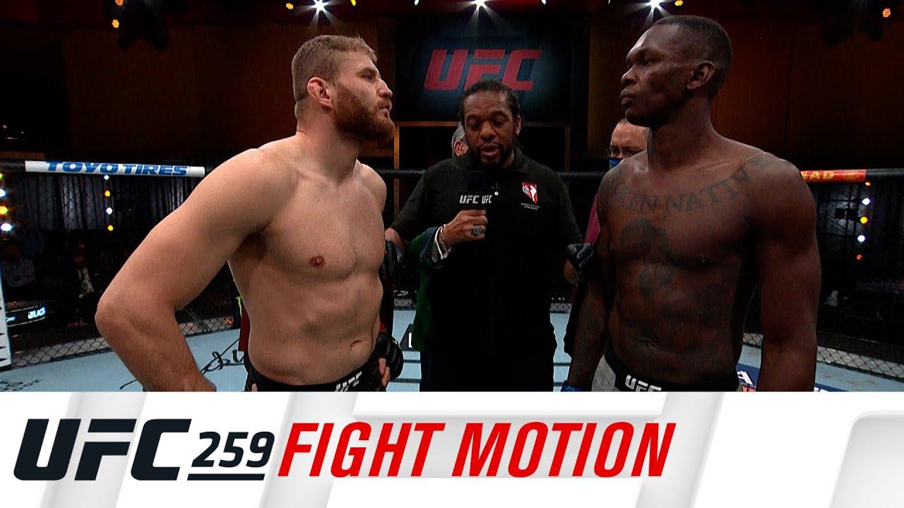 UFC 259: Fight Motion